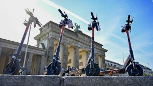 Erste schwere Unfälle mit Elektro-Tretrollern in Berlin