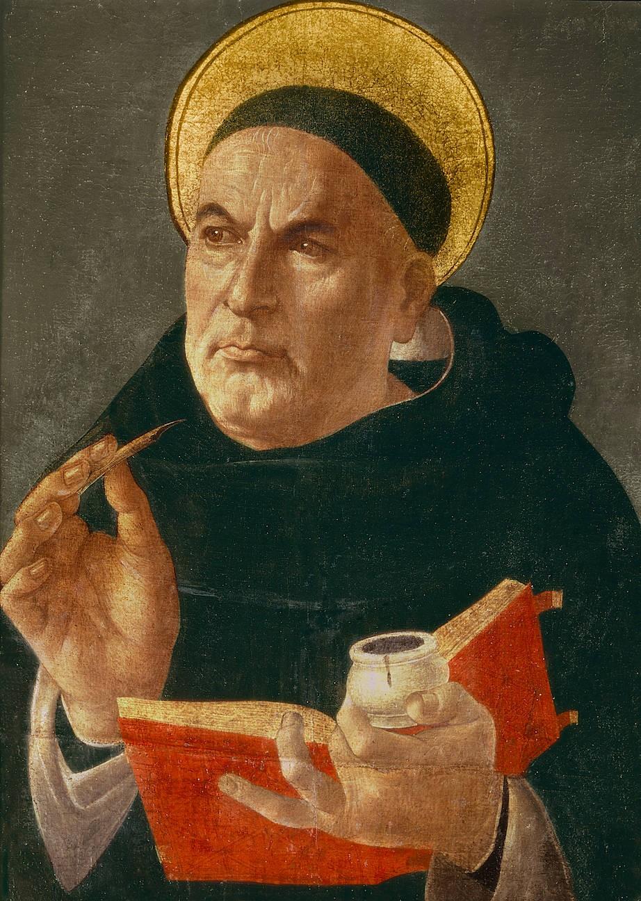 Doctor angelicus: Thomas von Aquin, der bis heute einflussreichste aller Scholastiker wird - wie einige seiner Fachkollegen - als Heiliger verehrt