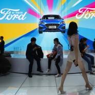 Der Ford-Messestand auf der Auto China 2018 in Peking (Symbolfoto)