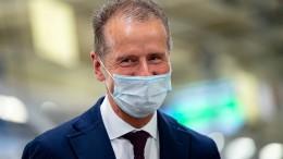 VW-Chef warnt vor Arbeitsplatzverlusten durch CO2-Regeln der EU