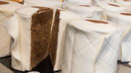 Konditor verkauft Klopapier-Marmorkuchen