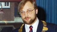 Als Bürgermeister von Würselen: Martin Schulz, 1988