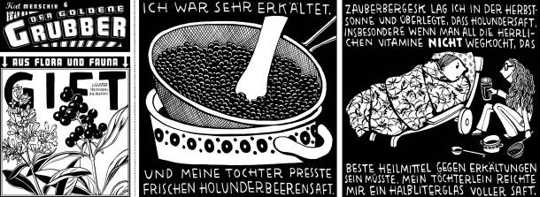 Comic / Kat Menschik / Der goldene Grubber / 006