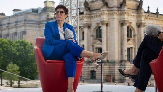 """""""Jeder CDU-Vorsitzkandidat denkt auch ans Kanzleramt"""""""