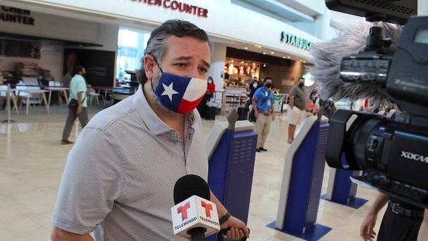 Kritik an Ted Cruz für Mexiko-Trip während Winterkrise