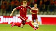 De Bruyne wahrt Belgiens Chance