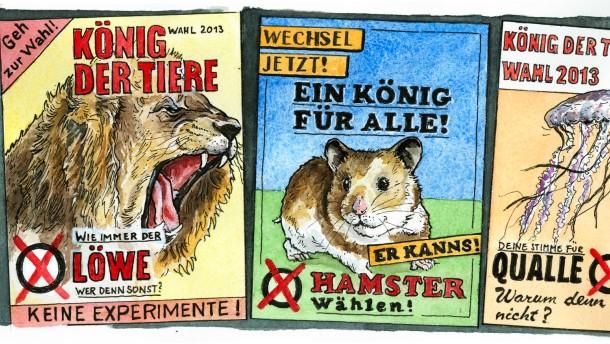 Illustration / Greser und Lenz Staat und Recht / Freie Wahl
