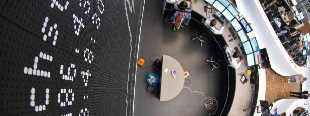 Viel Raum für hohe Kurssprünge in Frankfurt