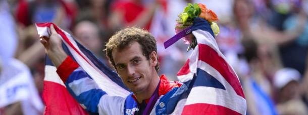 Das war einmal: Tennis-Olympiasieger Andy Murray gewinnt in London Gold für Großbritannien