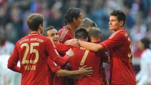 Bayern bleiben das Maß