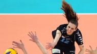Endlich wieder Bälle schlagen: Ksenija Ivanovic