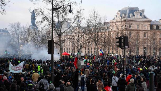 Die Krise hat Frankreich fest im Griff