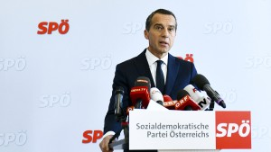 Festplatten bei Regierungswechsel in Österreich zerstört