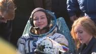 Russisches Filmteam von der ISS zurückgekehrt