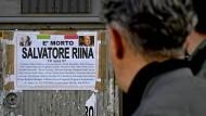 Sagenumwoben: Im vergangenen Jahr starb Salvatore Riina, der frühere Boss der Cosa Nostra.
