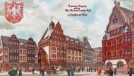 Früher war nicht alles besser: Entwurf für den Domplatz aus dem frühen 20. Jahrhundert.