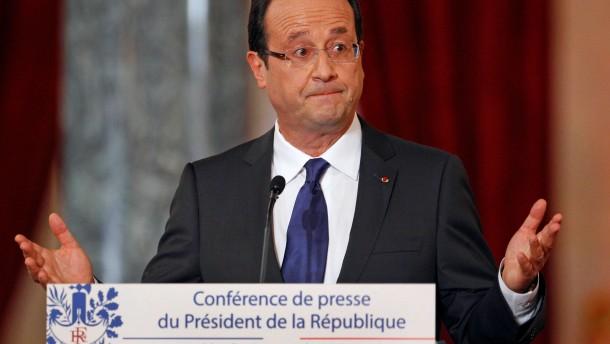 Arbeitslosigkeit setzt Hollande unter Druck