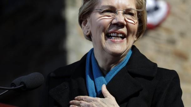 Warren bewirbt sich offiziell um Nominierung der Demokraten