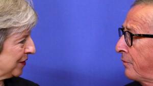 Brexit-Treffen ohne Ergebnis