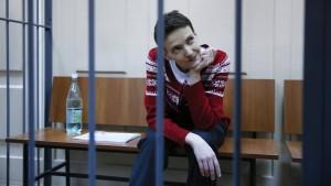 Ukrainische Pilotin unterbricht Hungerstreik
