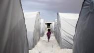 Flüchtlingslager für Syrer im Südosten der Türkei (Archivbild)