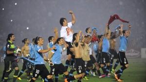 Uruguay macht das Feld komplett
