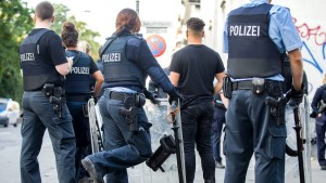 Polizeianwärter hatte Messer dabei