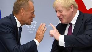 Keine Bewegung im Brexit-Streit: Johnson ohne neue Vorschläge