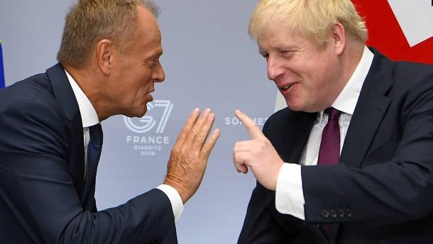Keine neuen Vorschläge von Boris Johnson