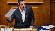 Ministerpräsident Tsipras kann weiterregieren