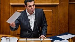 Parlament vertraut Tsipras weiterhin