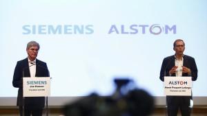 Fusion von Siemens und Alstom steht auf der Kippe
