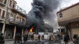 Sicherheitskräfte töten Dutzende Demonstranten im Irak