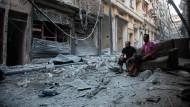 Luftangriffe auf Aleppo trotz Waffenruhe