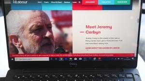 Labour-Partei berichtet über Cyber-Angriff