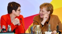 Union legt im Deutschlandtrend deutlich zu