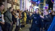 Gegen die Drogenkriminalität: Razzia am Donnerstagabend im Frankfurter Bahnhofsviertel