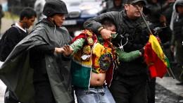 Ausschreitungen in Bolivien