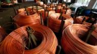 Wieder hoch im Kurs: Produktion von Kupferkabel in Vietnam.
