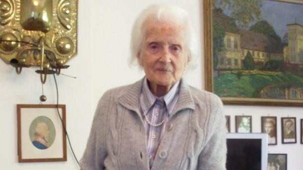 Bild / 101 Jahre alt / Scharffenorth Heidleberg