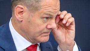 Scholz erteilt Forderung nach deutlich höherem Wehretat Absage