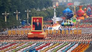 Chinas propagandistische Kraftmeierei