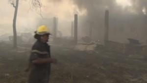 Tausende Wahlmaschinen bei Brand in Kongo zerstört