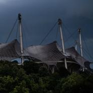 Galt einmal als Inbegriff der Moderne: Das Plexiglas-Dach des Münchner Olympiastadions.