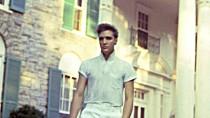 Elvis an seinem Wohnsitz