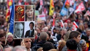 Protestaufrufe vor Merkels Besuch in Lissabon