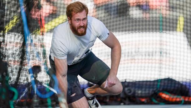 Christoph Harting fehlt im WM-Aufgebot
