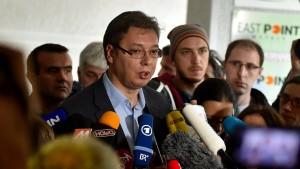 Klarer Sieg für serbischen Ministerpräsidenten