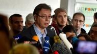 Klarer Sieg für Serbiens Premier Aleksandar Vučić