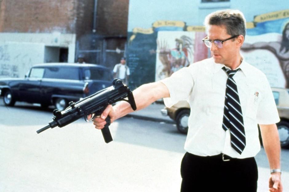 """Weiße, männliche Wut: Michael Douglas in """"Falling Down"""" (1993)"""